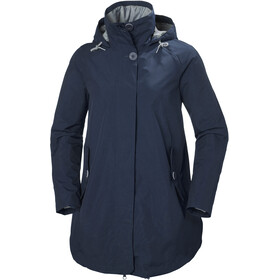 Helly Hansen W's Sendai Rain Coat Evening Blue